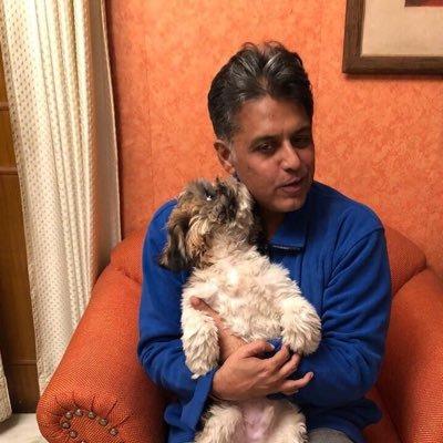10 Indian Celebrities & Their Pets - Manish Tiwari