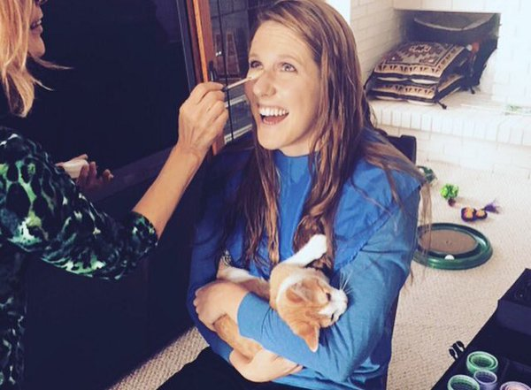 Missy Franklin - Olympians And Their Exotic Pals