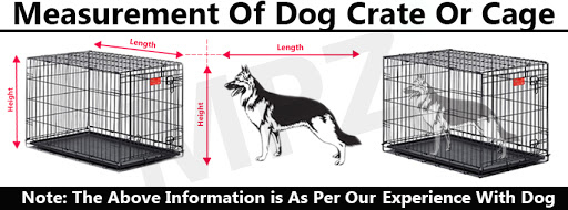 How To Choose The Right Size Of Dog Cage Or Crate? - Measurements of dog crate or cage