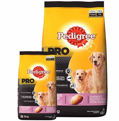 Pedigree Mother and Pup Starter