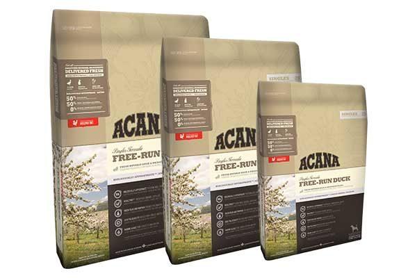 Acana free-run duck dog food