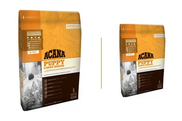 Acana large breed puppy food