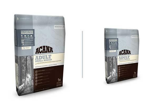 Acana adult small breed food